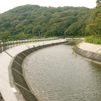豊川用水 二川第3開水路